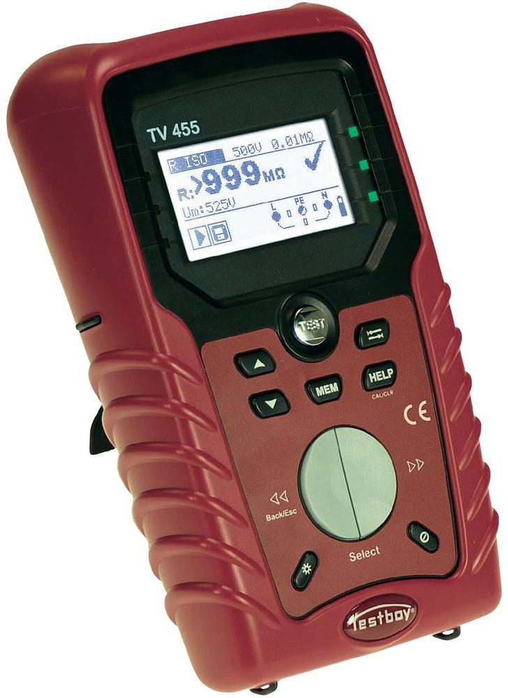 Testboy TV455 - инсталяционный тестер (Red)