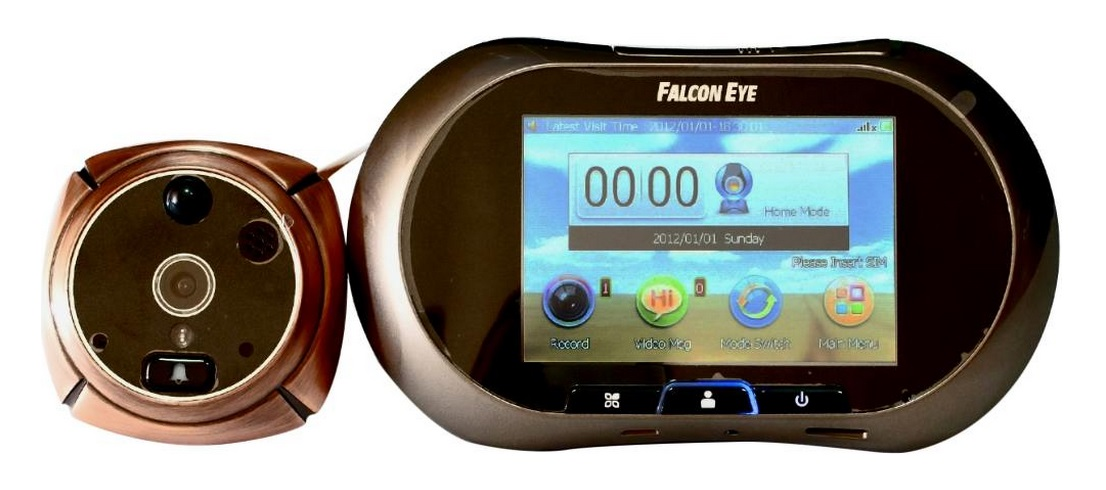 Falcon Eye (FE-VE03) - видеоглазок (Bronze)