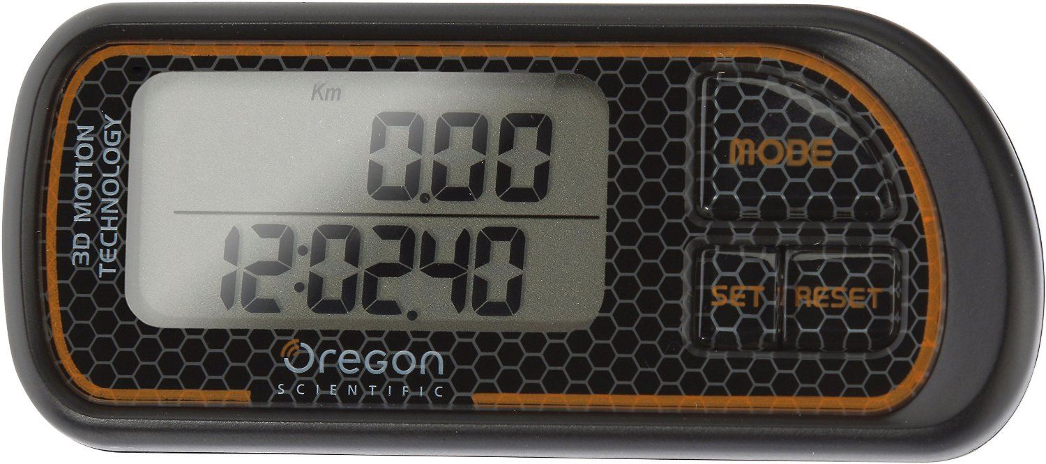 Oregon Scientific PE208 - 3D шагомер (Black)