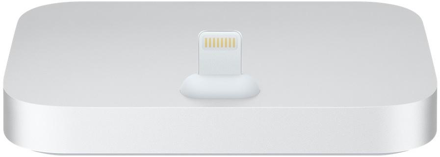 apple Apple iPhone Lightning Dock (ML8J2ZM/A) - док-станция для Apple iPhone (Space Silver)