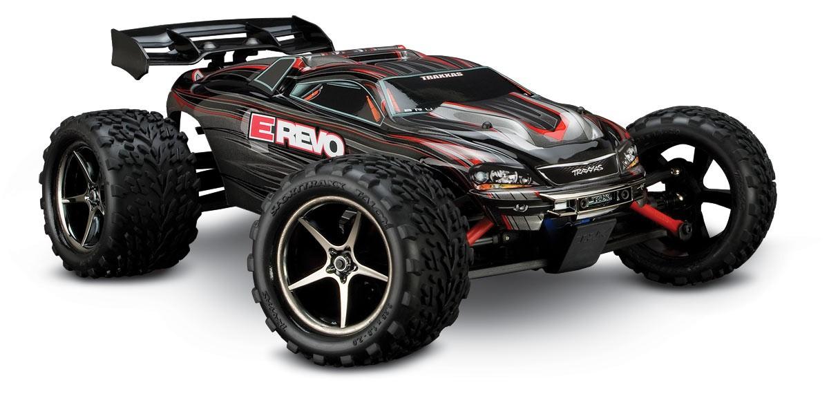 Traxxas E-Revo VXL 4WD RTR 1:16 - радиоуправляемый автомобиль (Black) TRA71076-3