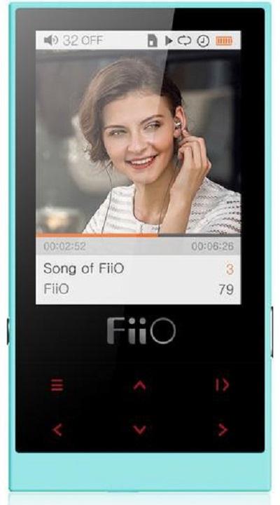 FiiO M3 (15118390) - портативный плеер (Сyan)Портативные плееры<br>Портативный плеер<br>
