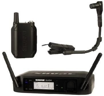 Shure GLXD14E/B98 Z2 (A045851) - цифровая радиосистема с микрофоном BETA 98 (Black)