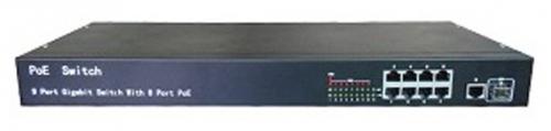 iVUE PS1082T - коммутатор для IP-камер (Black)