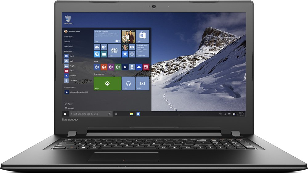 "Ноутбук Lenovo B71-80 17.3"" Intel Core i5-6200U 2.3Ghz, 4Gb, 1Tb HDD (80RJ00EWRK)"