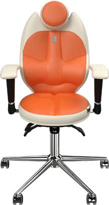 kulik Детское кресло Kulik System Trio 1401 (White/Orange)