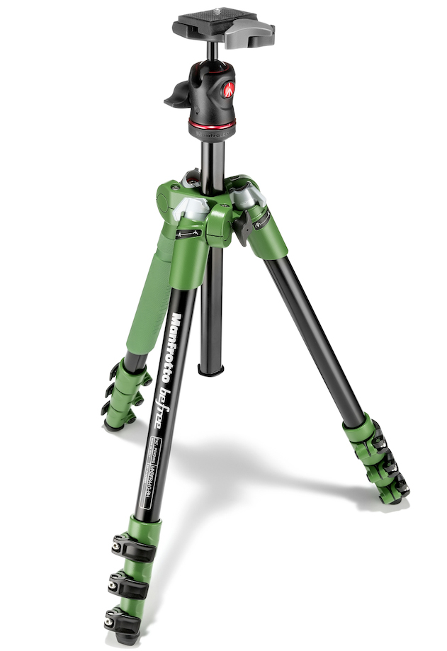 Manfrotto MKBFRA4G-BH - штатив + шаровая головка для фотокамер (Green)