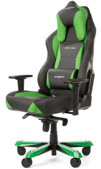 DXRacer OH/WX0/NE - компьютерное кресло (Black/Green)