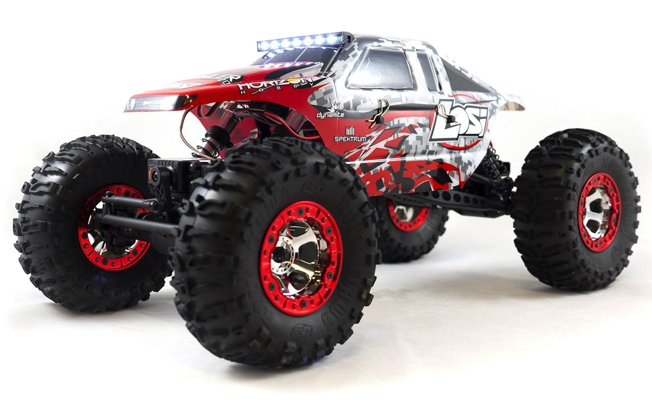 Losi Night Crawler 2.0 1:10 - радиоуправляемый автомобиль (Red)
