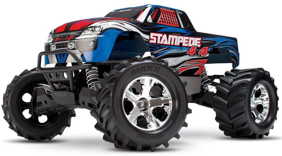 Traxxas Stampede 1:10 - радиоуправляемый автомобиль (Blue)