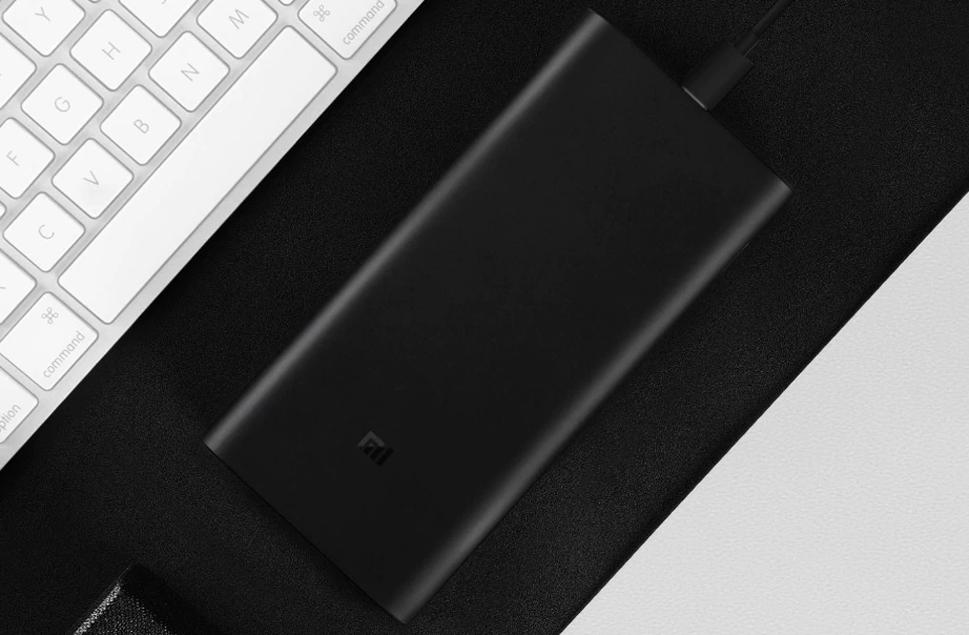 Внешний аккумулятор Xiaomi Mi Power Bank 3 Pro 20000 mAh (Black)