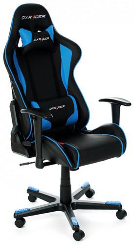 DXRacer OH/FE08 - компьютерное кресло (Blue)