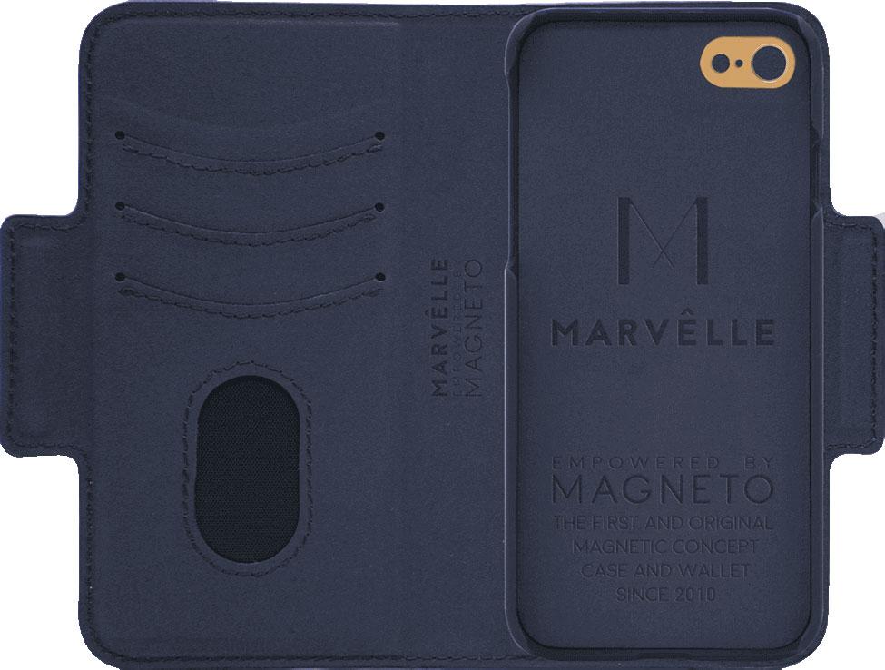 Чехол Marvelle N°305 для iPhone 6/6S/7/8 (Oxford Blue Smooth)