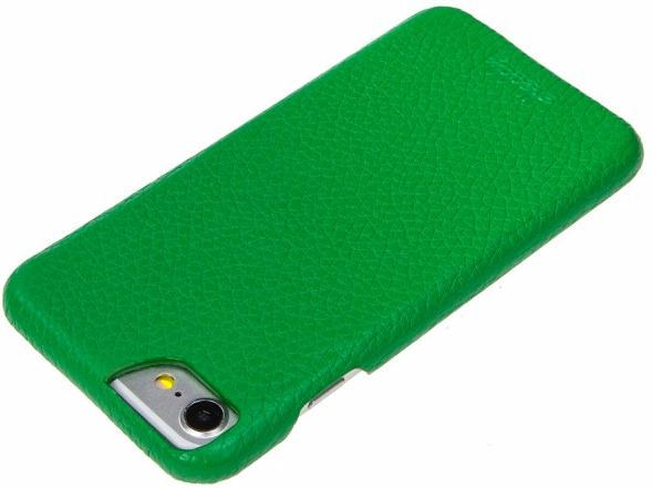 Чехол-накладка Heddy Alcantara Cover (Heddy7-CovAl-green) для iPhone 7 (Green)