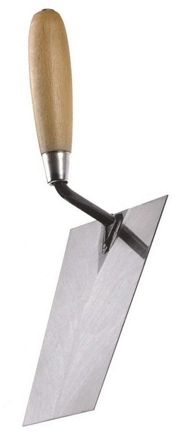 Kapriol 18 см (23401) - мастерок с деревянной ручкойШтукатурные инструменты<br>Мастерок с деревянной ручкой<br>