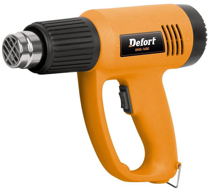 Defort DHG-1600 (98298857) - технический фен (Orange) от iCover