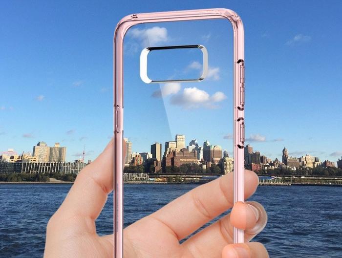 Чехол Spigen Ultra Hybrid (565CS21632) для Samsung Galaxy S8 (Crystal Pink)