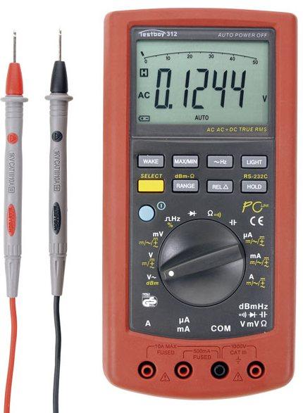 Testboy 312 - цифровой мультиметр (Red)