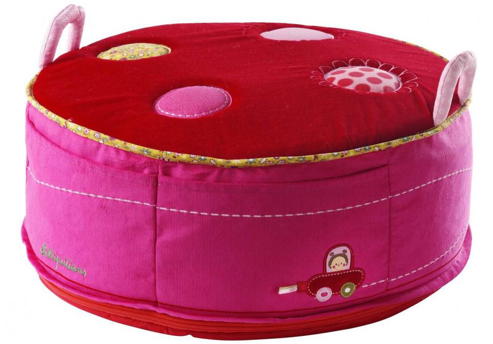 Lilliputiens Божья коровка Лиза (86093) - игрушка-пуф (Pink/Red)Развивающие игрушки<br>Игрушка-пуф<br>