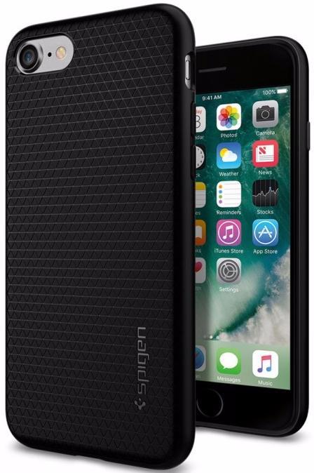 Чехол Spigen Liquid Armor (042CS20511) для iPhone 7/8 (Black)