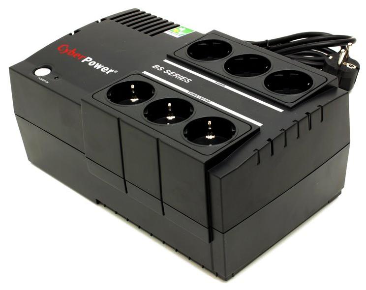 CyberPower BS650E - источник бесперебойного питания (Black)  BS650E