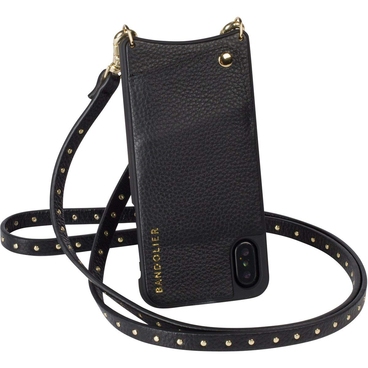 Чехол Bandolier Natalie для iPhone X/Xs (Black/Gold)