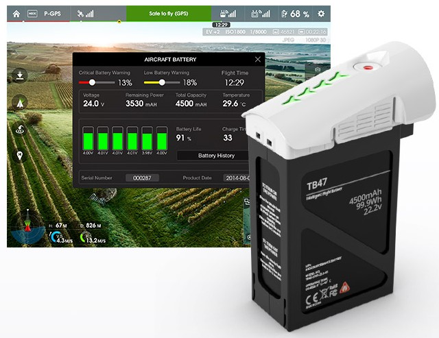 Smart Battery TB47