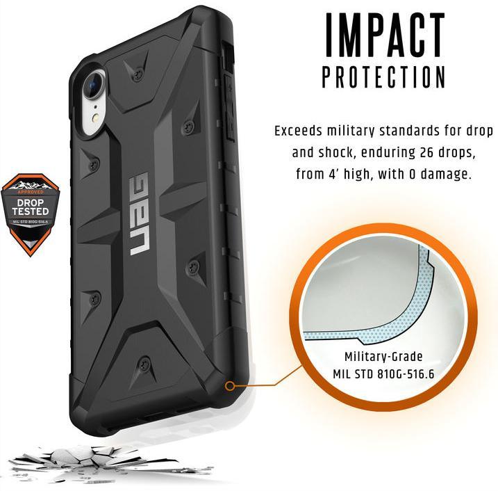 Чехол Urban Armor Gear Pathfinder для iPhone XR (Black)