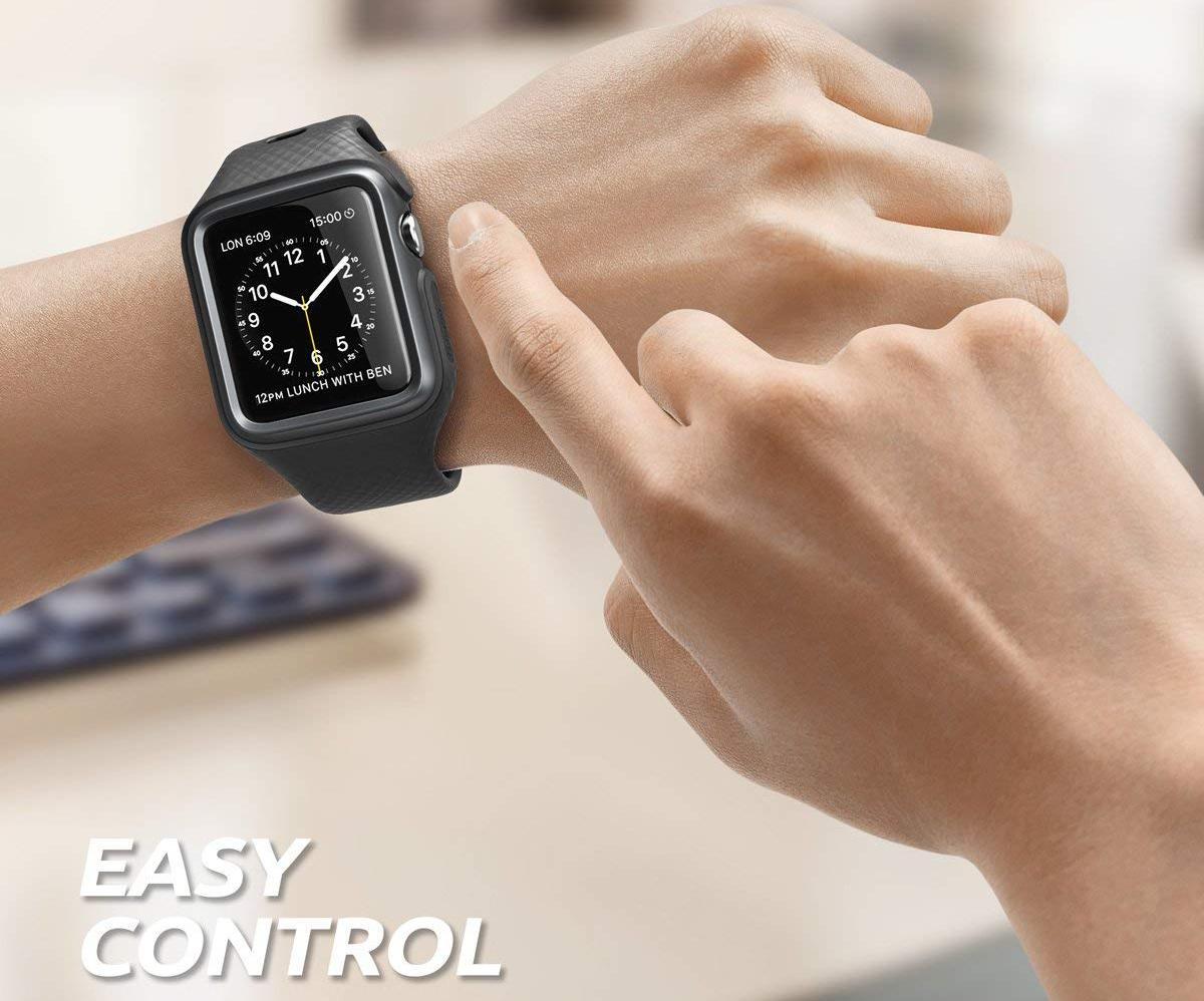 Чехол-ремешок Clayco Hera Series для Apple Watch Series 2/3 42mm (Black)