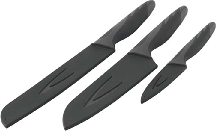 Outwell Knife Set (650339) - набор ножей в чехлах (Grey/Black)