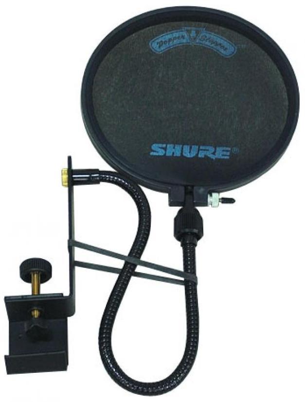 PS-6 POPАксессуары к музыкальному обрудованию<br>Фильтр для студийных микрофонов, гибкий держатель 14` и крепление на штангу<br>