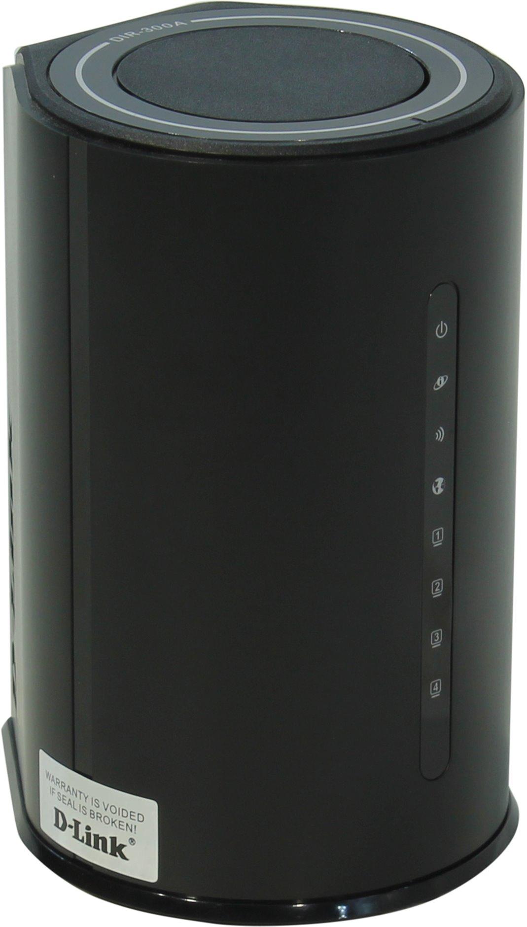 D-Link N150 (DIR-300A/A1A) - беспроводной маршрутизатор (Black)
