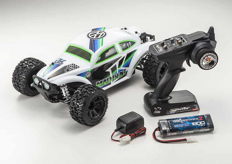 Kyosho 1/10 EP 4WD Mad Bug VE T1 RTR