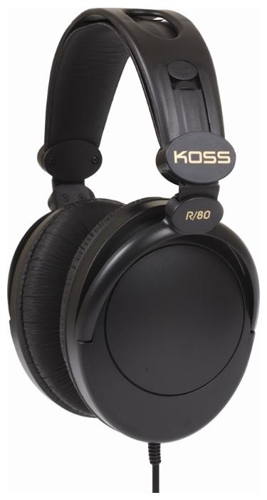 Koss R80 (15114867) - мониторные наушники (Black)