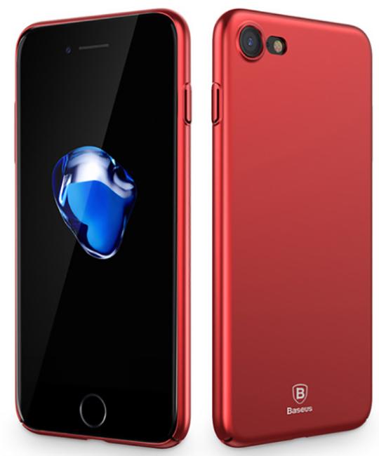 Baseus Thin Case (WIAPIPH7-AZB09) - чехол для iPhone 7 (Red)
