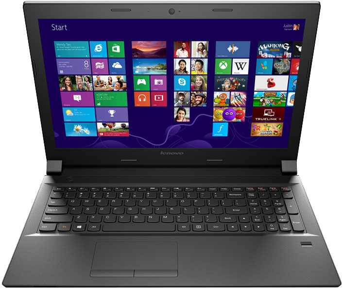Ноутбук Lenovo B50-30 15,6'', Intel Celeron N2840, 2.16 GHz, 2Gb, 500Gb HDD (59-443527)