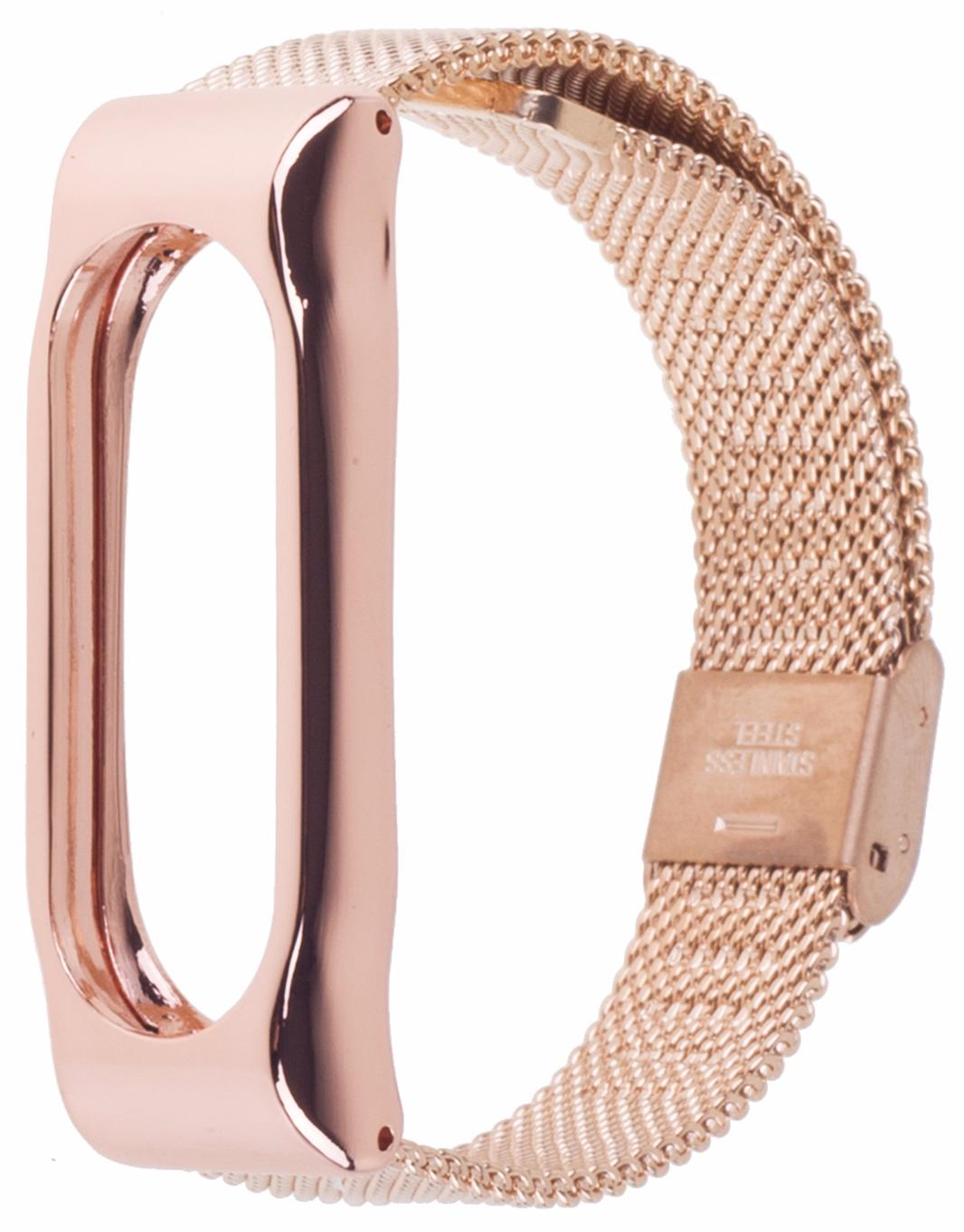 Xiaomi Milanese Metal Wristband - сменный ремешок для Xiaomi Mi Band 2 (Gold)