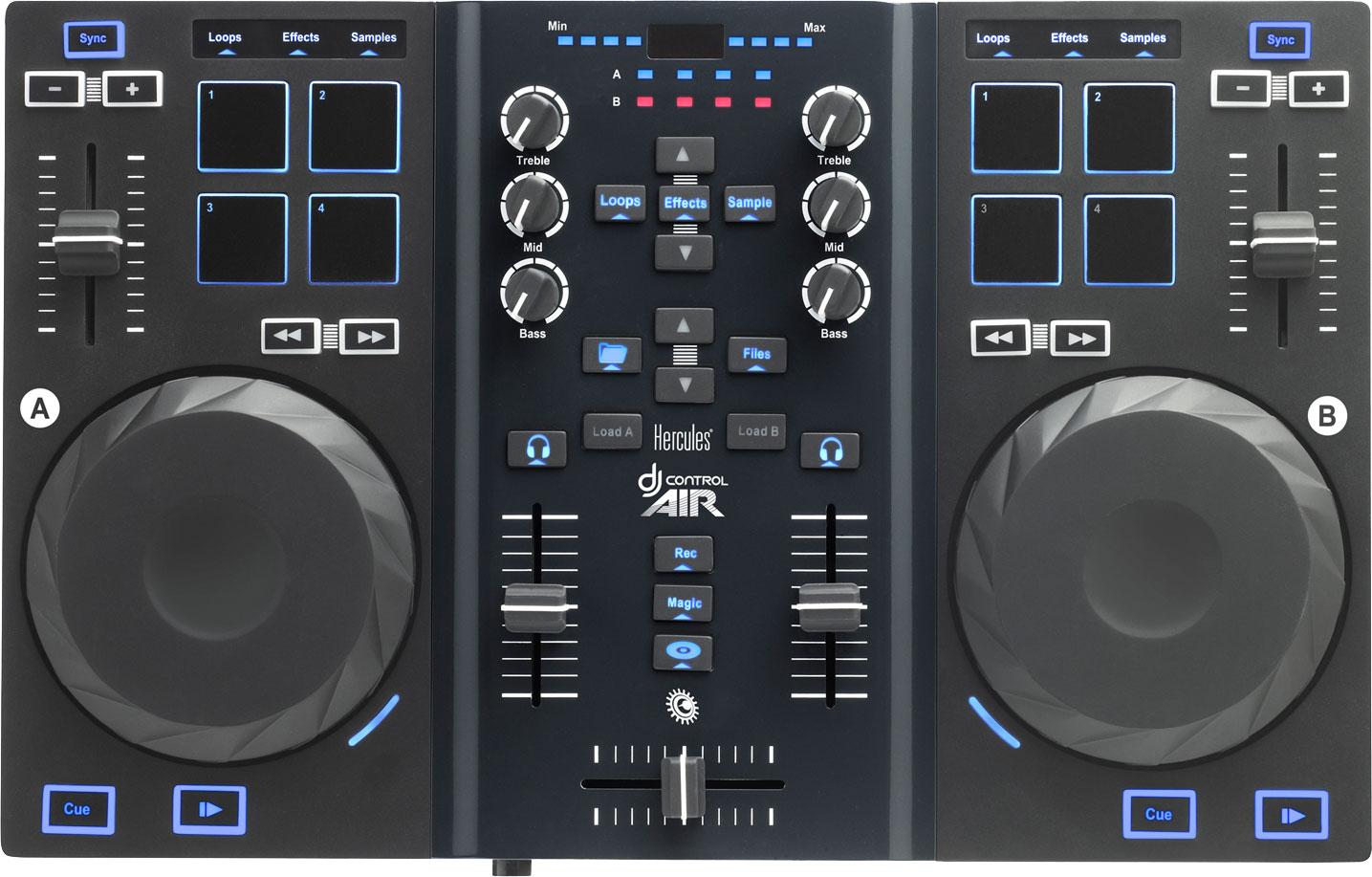 Купить Hercules DJ Control AIR - микшерный пульт (Black)