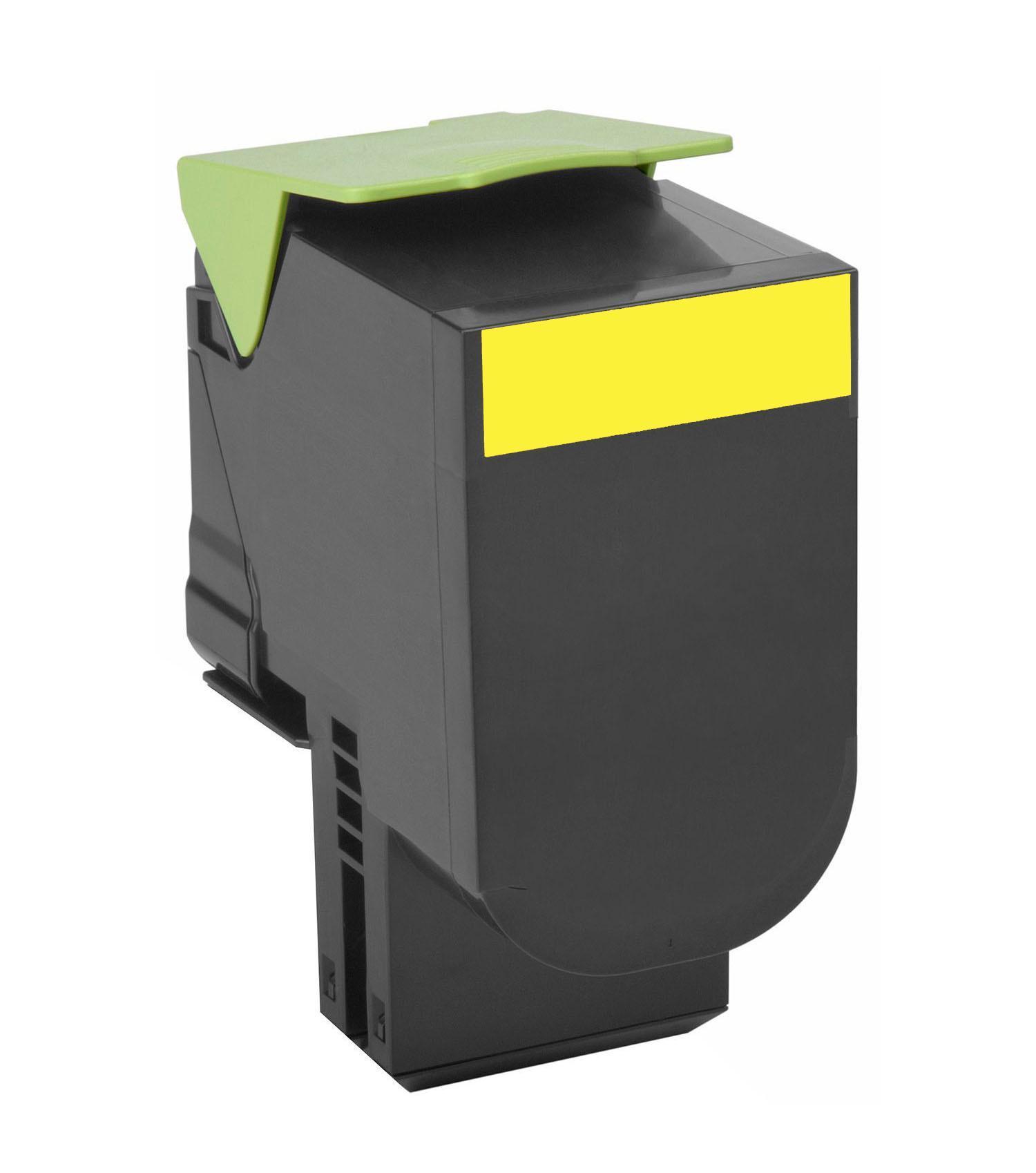 Lexmark LRP 4K 80C8XY0 - картридж для принтеров Lexmark CX510 (Yellow)