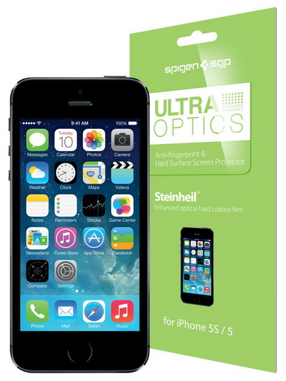 SGP Steinheil Ultra Optics (SGP08199) - защитная пленка для iPhone 5S/5C/5