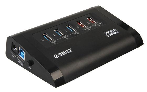 Orico USB 3.0 Hub UH3C2-BK нд