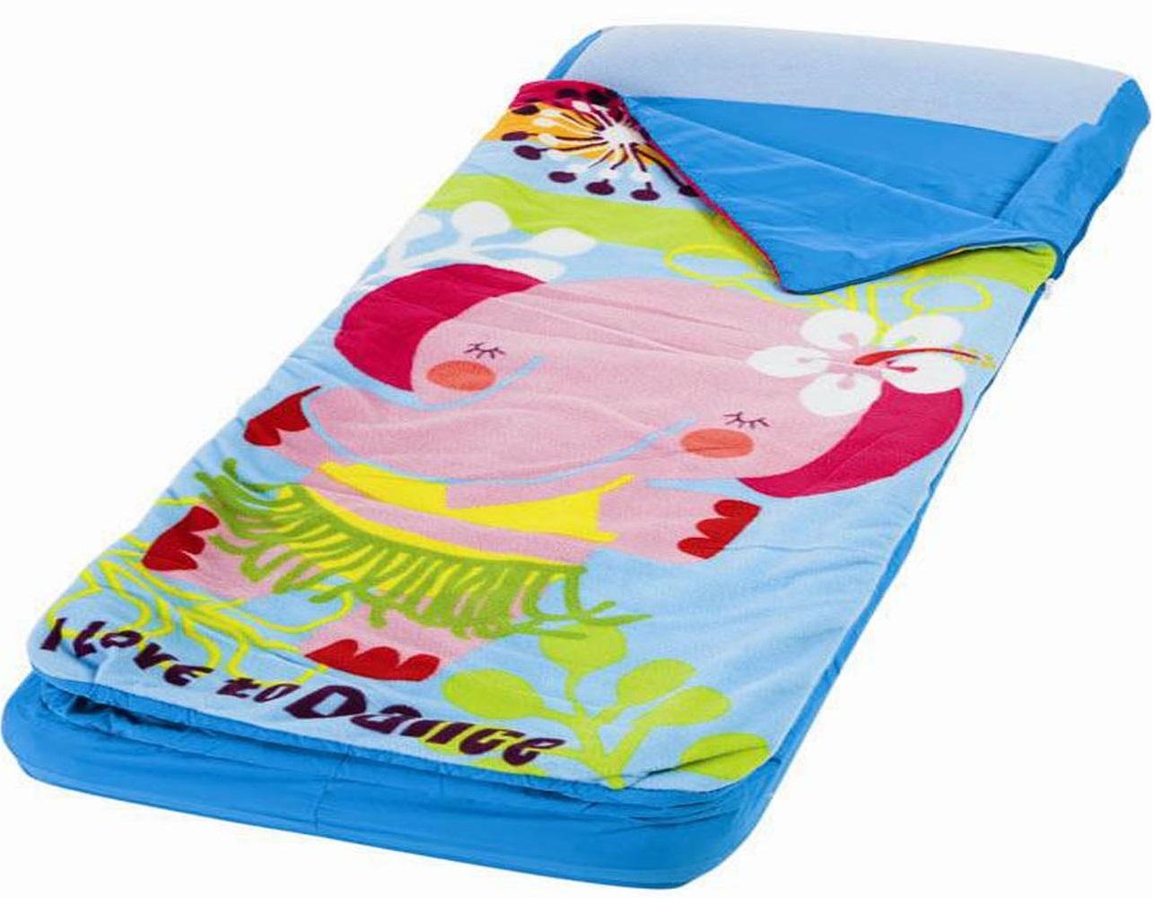 Intex (с66802) - детский надувной матрас с покрывалом на молнии