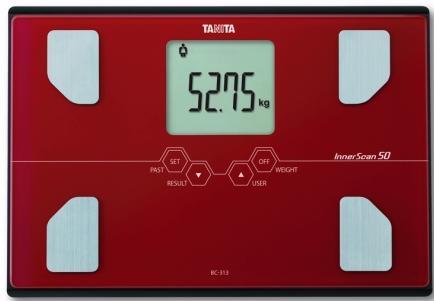Tanita BC-313 - весы с анализатором (Red)