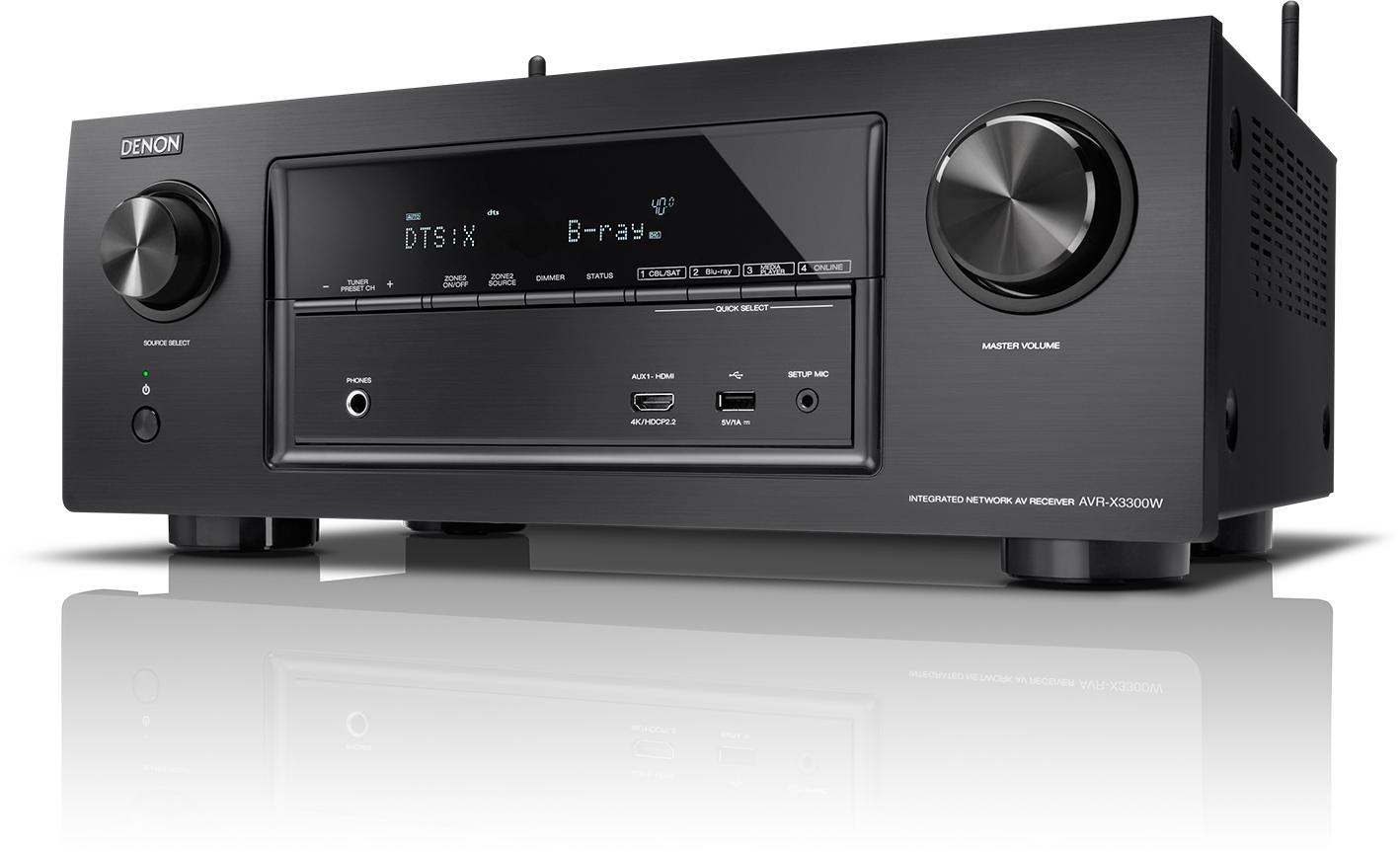 Denon AVR-X3300W - AV-ресивер (Black)