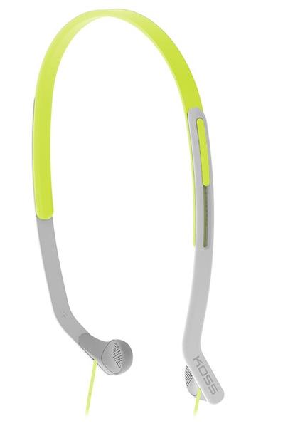 Koss KPH14 (KPH14G) - внутриканальные спортивные наушники (Green)  koss keb9 grey наушники