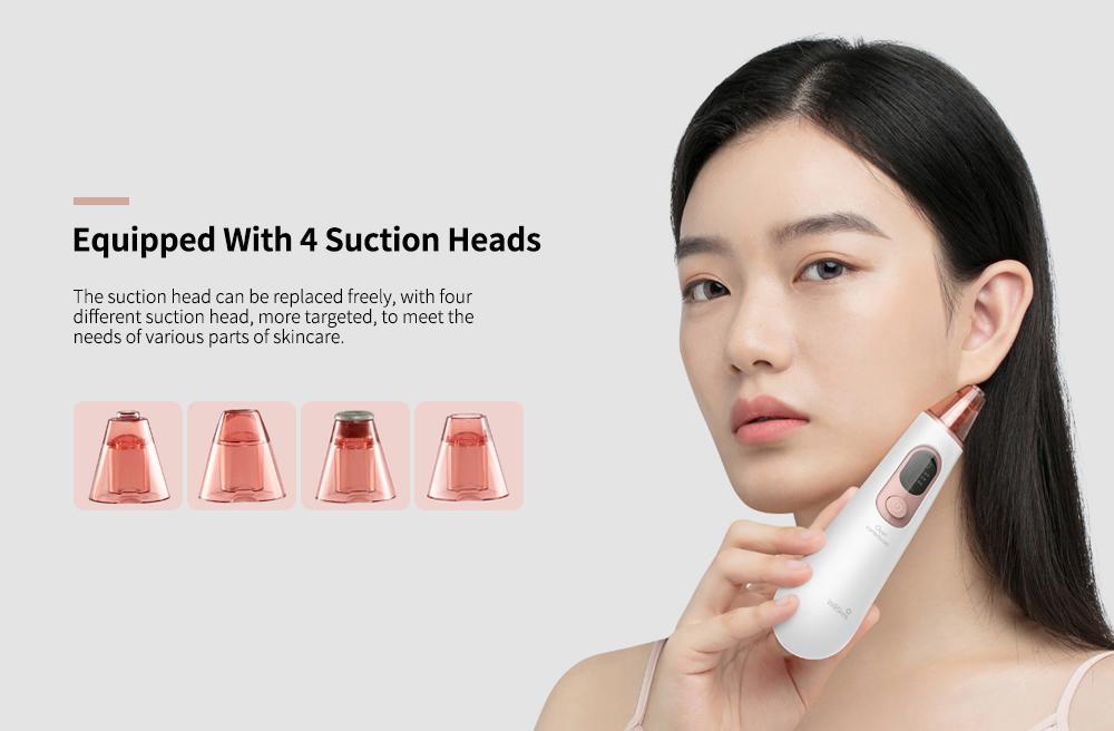 Аппарат для вакуумной чистки кожи лица Xiaomi WellSkins WX-HT100 (White) купить в интернет-магазине icover
