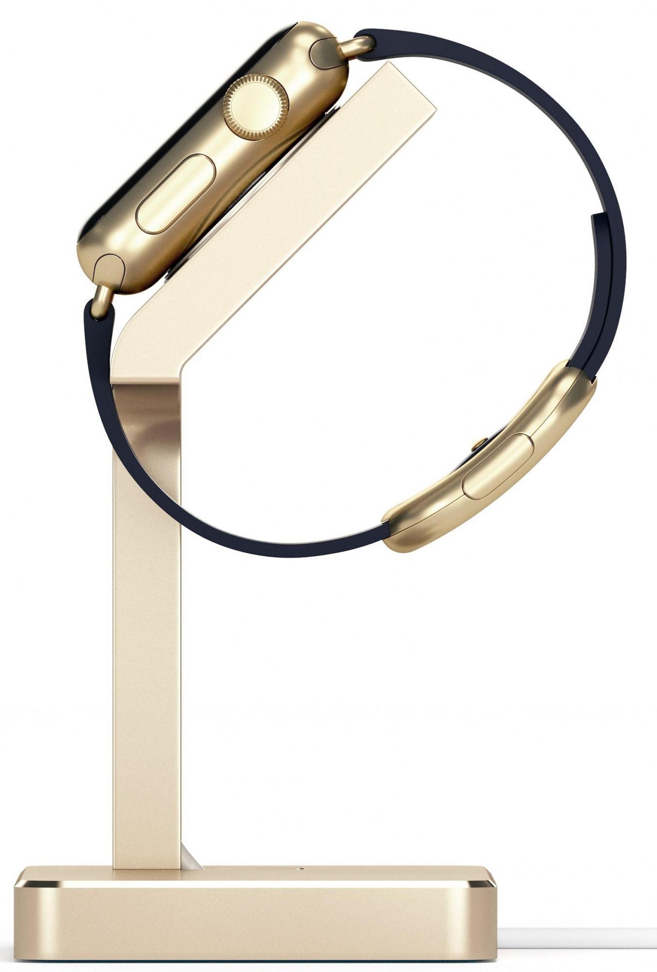 Подставка Satechi Aluminum Apple Watch Charging Stand (ST-AWSG) для Apple Watch/Series 2/3 38/42mm (Gold)