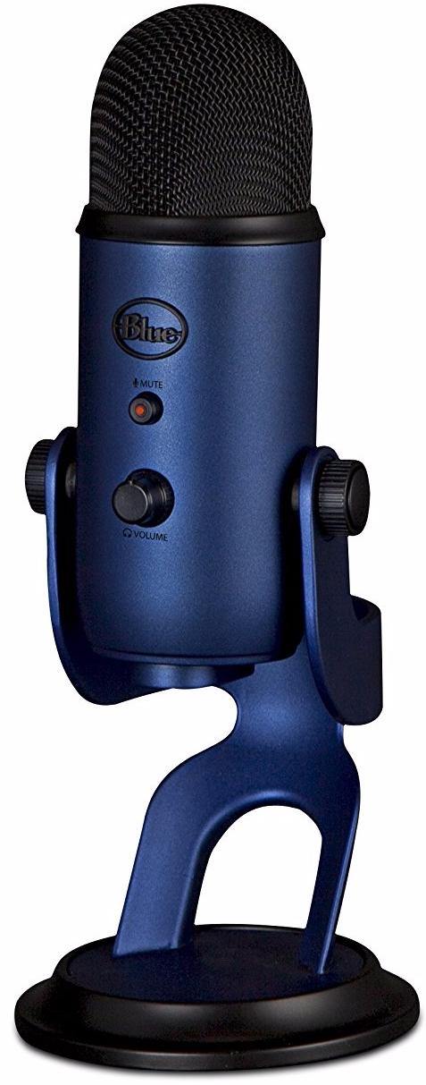 Blue Microphones Yeti - конденсаторный USB-микрофон (Midnight Blue)