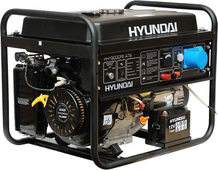 Hyundai HHY 9000FE ATS - генератор бензиновый