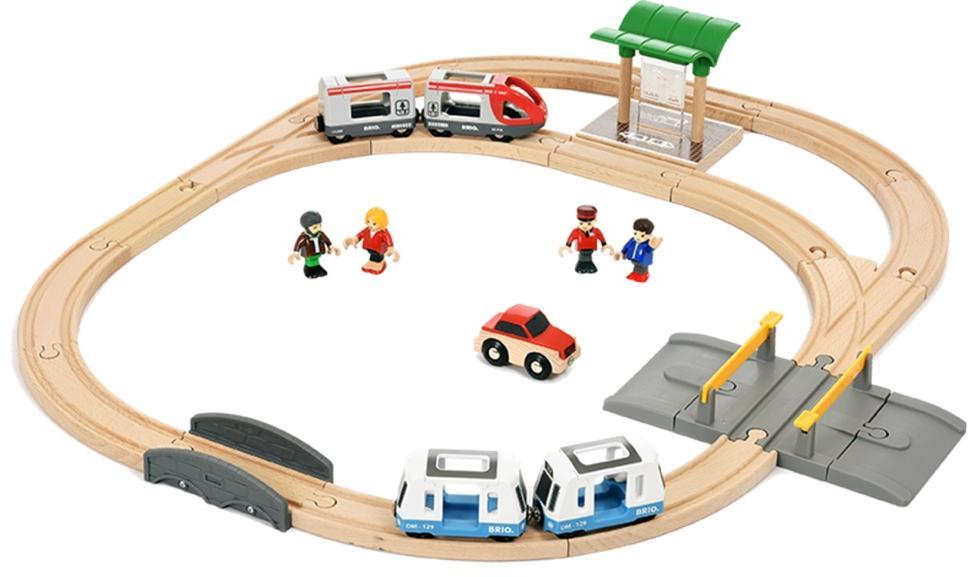 BRIO Городской транспорт (33139) - железная дорога